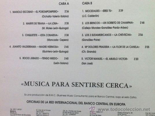 Discos de vinilo: NOSTALGIA DE ESPAÑA - M. ESCOBAR, MARIFÉ DE TRIANA, VALDERRAMA, ROCÍO JURADO, LOS BRINCOS... - Foto 2 - 37590603