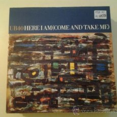 Dischi in vinile: UB40 - HERE I AM (COME AND TAKE ME) (PEDIDO MINIMO 6 EUROS). Lote 37591022