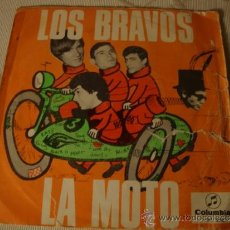 Discos de vinilo: LOS BRAVOS - LA MOTO / LA PRIMERA AMISTAD - 45 R.P.M. - COLUMBIA 1966. Lote 37591404