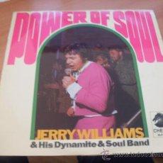 Discos de vinilo: JERRY WILLIAMS (POWER OF SOUL) LP SUECIA 1968 (EX-/ NM) (VIN7). Lote 37593620