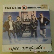 Discos de vinilo: PARACHOKES - QUE CORAJE DA (PEDIDO MINIMO 6 EUROS). Lote 37596290