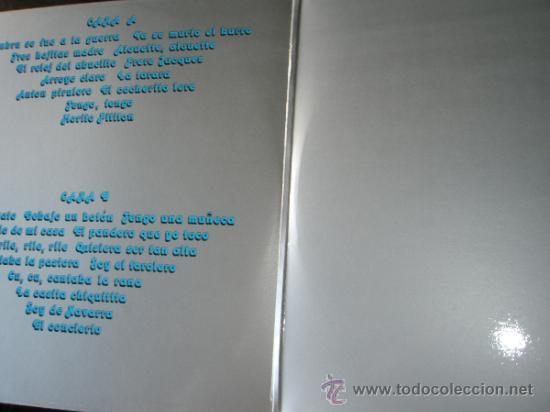 Discos de vinilo: LP-CANCIONES INFANTILES-PREMIO NACIONAL Mº CULTURA 1979-. - Foto 7 - 37510614