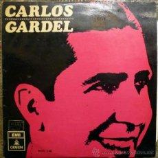 Discos de vinilo: CARLOS GARDEL. CARLOS GARDEL ACOMP. GUITARRAS. EMI-ODEÓN. ESP. 1966 LP. Lote 37599094