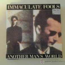 Disques de vinyle: INMACULATE FOOLS - ANOTHER MAN´S WORLD (PEDIDO MINIMO 6 EUROS). Lote 37607611