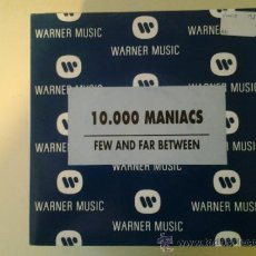 Discos de vinilo: 10.000 MANIACS - FEW AND FAR BETWEEN (PEDIDO MINIMO 6 EUROS). Lote 37609659