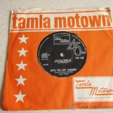 Discos de vinilo: FOUR TOPS ( REACH OUT I'LL BE THERE - UNTIL YOU LOVE SOMEONE ) ENGLAND-1966 SINGLE45 TAMLA MOTOWN. Lote 37612674