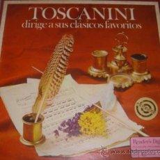 Discos de vinilo: TOSCANINI 5 LPS DIRIGE A SUS CLASICOS FAVORITOS READER´S DIGEST PLESURE PROGRAMMED. Lote 37616221