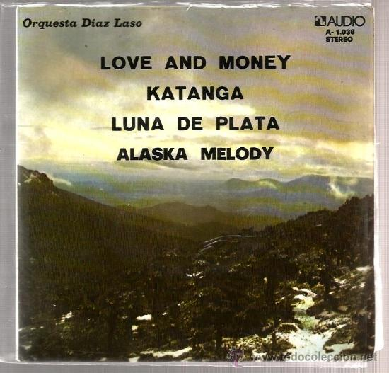 EP ORQUESTA DIAZ LASO : LOVE AND MONEY ( 4 TEMAS DE MARTIN MAXIMO ) (Música - Discos de Vinilo - EPs - Orquestas)