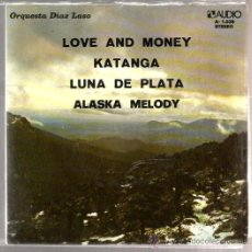 Discos de vinilo: EP ORQUESTA DIAZ LASO : LOVE AND MONEY ( 4 TEMAS DE MARTIN MAXIMO ). Lote 37616466