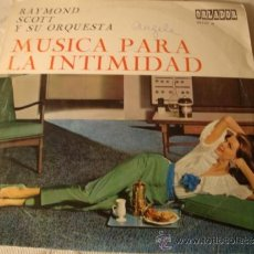 Discos de vinilo: DISCO LP EPS RAYMON SCOTT. Lote 37618949
