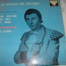 Discos de vinilo: LAS BODAS DE FIGARO MOZART ORQUETA FILARMONICA DE VIENA ERICH KLEIBER. Lote 37619087
