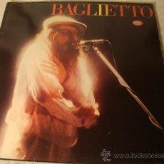 Discos de vinilo: DISCO LP EPS JUAN BAGLIETTO - BAGLIETTO 1984. Lote 37619112