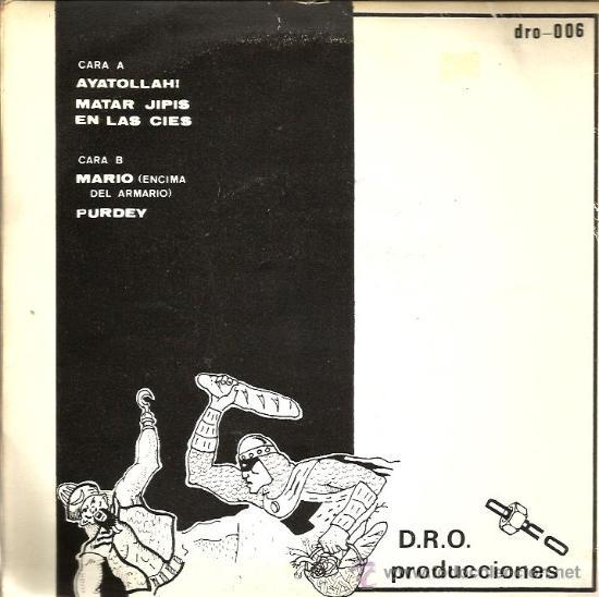 Discos de vinilo: EP SINIESTRO TOTAL : : AYUDANDO A LOS ENFERMOS + 3 - Foto 2 - 37621718