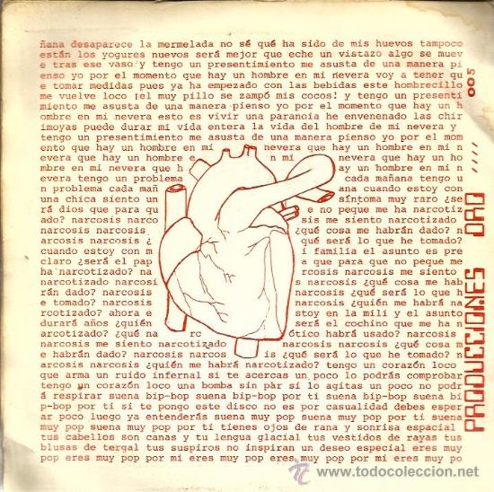 Discos de vinilo: EP GLUTAMATO YE-YE : CORAZON LOCO + 3 ( CONTIENE ENCARTE ORIGINAL) - Foto 2 - 37621902