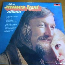 Discos de vinilo: JAMES LAST.....THE ALBUM....LONG PLAY 1971..../ENGLAND EDITION/PEPETO RECORDS JAMES . Lote 37624092
