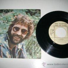 Discos de vinilo: ERIC CLAPTON PROMISES / WATCH OUT FOR LUCY (1978 RSO POLYDOR ESPAÑA). Lote 37626011