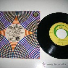 Discos de vinilo: LOS RELAMPAGOS DANZA DEL FUEGO + 3 (1966 ZAFIRO NOVOLA) TARREGA FALLA LUNA SERRANO . Lote 37628777