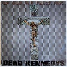Discos de vinilo: DEAD KENNEDYS - IN GOD WE TRUST, INC. - MINI ALBUM AUSTRALIA (BLUE VINYL) 1985 - STATIK STATEP2. Lote 37625863