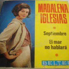 Discos de vinilo: MADALENA IGLESIAS SEPTIEMBRE. Lote 37631323