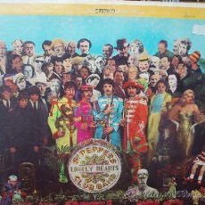 Discos de vinilo: THE BEATLES- SGT. PEPPERS-STEREO-CAPITOL RECORDS. Lote 37635409