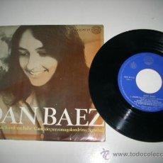 Discos de vinilo: JOAN BAEZ PACK UP YOUR SORROWS IT AIN'T ME BABE A SWALLOW SONG STEWBALL (1966 HISPAVOX ESPAÑA) DYLAN. Lote 37637811