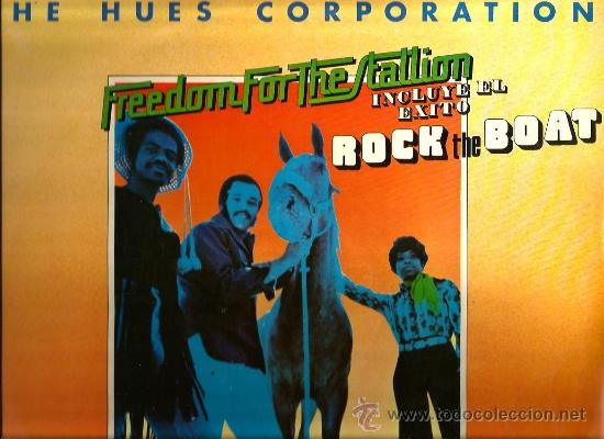 LP THE HUES CORPORATION : FREEDOM FOR THE STALLION (Música - Discos - LP Vinilo - Funk, Soul y Black Music)