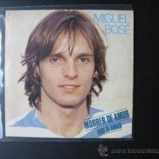 Discos de vinilo: MIGUEL BOSE SINGLE BRASIL. Lote 37643971