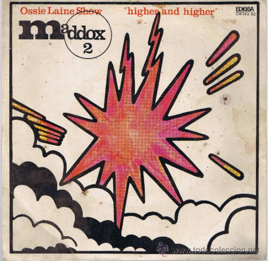 MADDOX 2 - OSSIE LAYNE SHOW - GRAVACIÓ MADDOX PLATJA D'ARO - FOTO ADICIONAL (Música - Discos - Singles Vinilo - Pop - Rock Internacional de los 50 y 60)