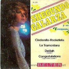 Discos de vinilo: SHEGUNDO GALARZA - CINDERELLA ROCKEFELLA - EP RARO DE VINILO. Lote 37656331