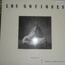 Discos de vinilo: LOS GOFIONES - VOLUMEN III LP - ORIGINAL ESPAÑA - DISCAN 1987 CON FUNDA INT. (LETRAS CANCIONES)- (5). Lote 54180875