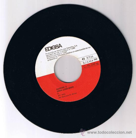 Discos de vinilo: MADDOX 2 - OSSIE LAYNE SHOW - GRAVACIÓ MADDOX PLATJA DARO - FOTO ADICIONAL - Foto 3 - 37651377