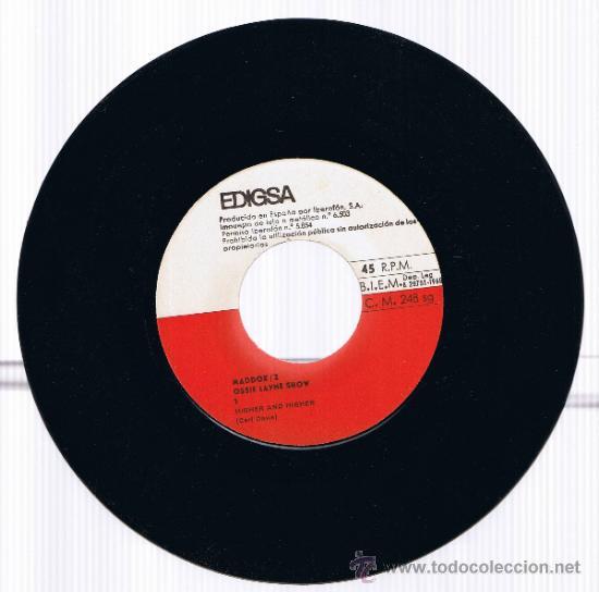 Discos de vinilo: MADDOX 2 - OSSIE LAYNE SHOW - GRAVACIÓ MADDOX PLATJA DARO - FOTO ADICIONAL - Foto 4 - 37651377