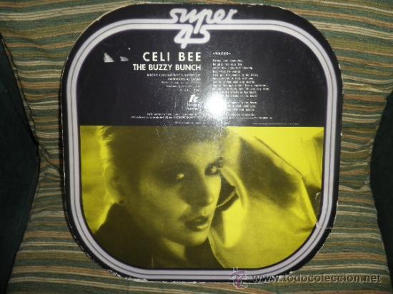 Discos de vinilo: CELI BEE & THE BUZZY BUNCH - MACHO- SUPER 45 MAXI - ORIGINAL ESPAÑA - EPIC 1978 - MUY NUEVO (5) - Foto 12 - 37667877