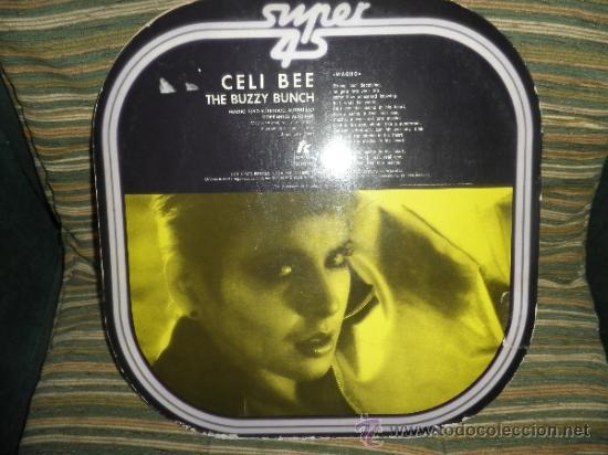 Discos de vinilo: CELI BEE & THE BUZZY BUNCH - MACHO- SUPER 45 MAXI - ORIGINAL ESPAÑA - EPIC 1978 - MUY NUEVO (5) - Foto 8 - 37667877