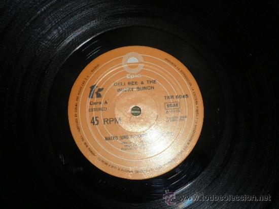 Discos de vinilo: CELI BEE & THE BUZZY BUNCH - MACHO- SUPER 45 MAXI - ORIGINAL ESPAÑA - EPIC 1978 - MUY NUEVO (5) - Foto 3 - 37667877
