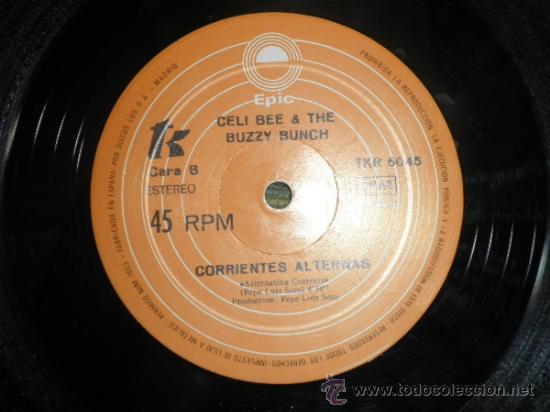 Discos de vinilo: CELI BEE & THE BUZZY BUNCH - MACHO- SUPER 45 MAXI - ORIGINAL ESPAÑA - EPIC 1978 - MUY NUEVO (5) - Foto 5 - 37667877