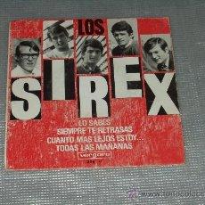 Discos de vinilo: SIREX EP LO SABES+3. Lote 37666518