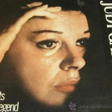 Discos de vinilo: JUDY GARLAND - 20 HITS OF A LEGEND - LP - NOSTALGIA 1985 GERMANY. Lote 37672347