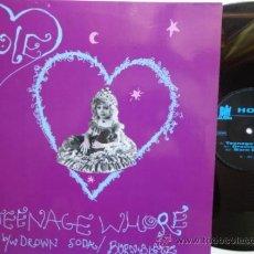 Discos de vinilo: HOLE-TEENAGE WHORE- MAXI SINGLE. GERMANY 1991. NM/EX.. Lote 37682301