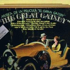 Discos de vinilo: THE GREAT GATSBY - MÚSICA DE LA PELÍCULA - 1974. Lote 37778223