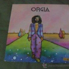 Discos de vinilo: SISA.ORGIA. EDIGSA 1971 CON ENCARTE EN EL INTERIOR. Lote 37681076