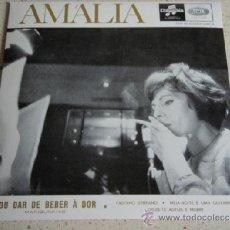 Discos de vinilo: AMÁLIA (VOU DAR DE BEBER A DOR -FADINHO SERRANO- MEIA-NOITE E UMA GUITARRA -DISSE-TE ADEUS E MORRI). Lote 37681321