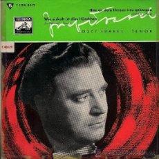 Discos de vinilo: JOSEF TRAXEL: HIER AN DEM HERZEN TREU GEBORGEN / WIE EISKALT... EP 45 RPM. Lote 37686672