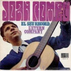 JOAN ROMEU - EL SEU RECORD - SG SPAIN 1968 EX / EX