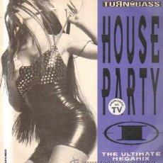 Discos de vinilo: HOUSE PARTY. THE ULTIMATE MEGAMIX D-VARIOS-699. Lote 209578126