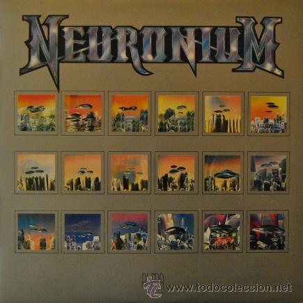 NEURONIUM - ALMA - LP RARO DE VINILO CON POSTER MICHEL HUYGEN - ELECTRONICA EXPERIMENTAL (Música - Discos - Singles Vinilo - Electrónica, Avantgarde y Experimental)