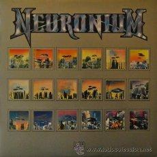 Discos de vinilo: NEURONIUM - ALMA - LP RARO DE VINILO CON POSTER MICHEL HUYGEN - ELECTRONICA EXPERIMENTAL. Lote 37693076