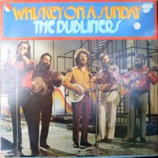 Discos de vinilo: DUBLINERS. WHISKEY ON A SUNDAY. EMI, UK 1969 LP. Lote 37702663