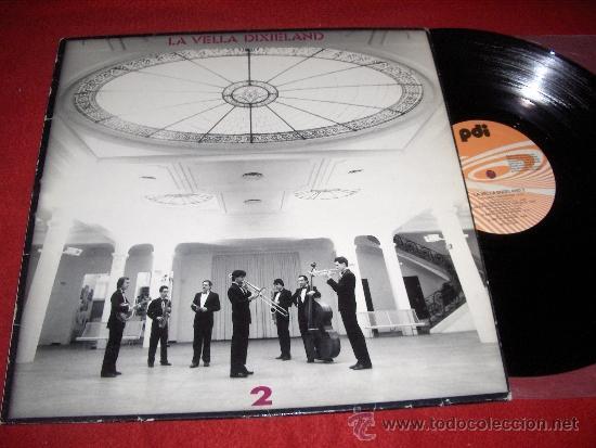 LA VELLA DIXIELAND 2 LP 1987 PDI CATALA JAZZY JAZZ (Música - Discos - LP Vinilo - Grupos Españoles de los 70 y 80)