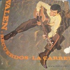 Discos de vinilo: VALEN RECUERDOS / LA CARRETA. Lote 37707866